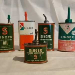 Different types of oil for the sewing machine